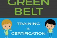 Lean Six Sigma Green Belt Training  Certification  Goleansixsigma for Green Belt Certificate Template