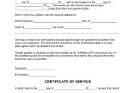 Lease Termination Letters  Day Notice To Quit For Landlords And regarding Cancellation Of Lease Agreement Template