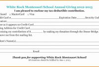 Ledger Account Form  Culturatti pertaining to Fundraising Pledge Card Template