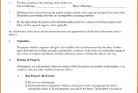 Legal Separation Forms  Free Invoice Letter pertaining to Common Law Separation Agreement Template