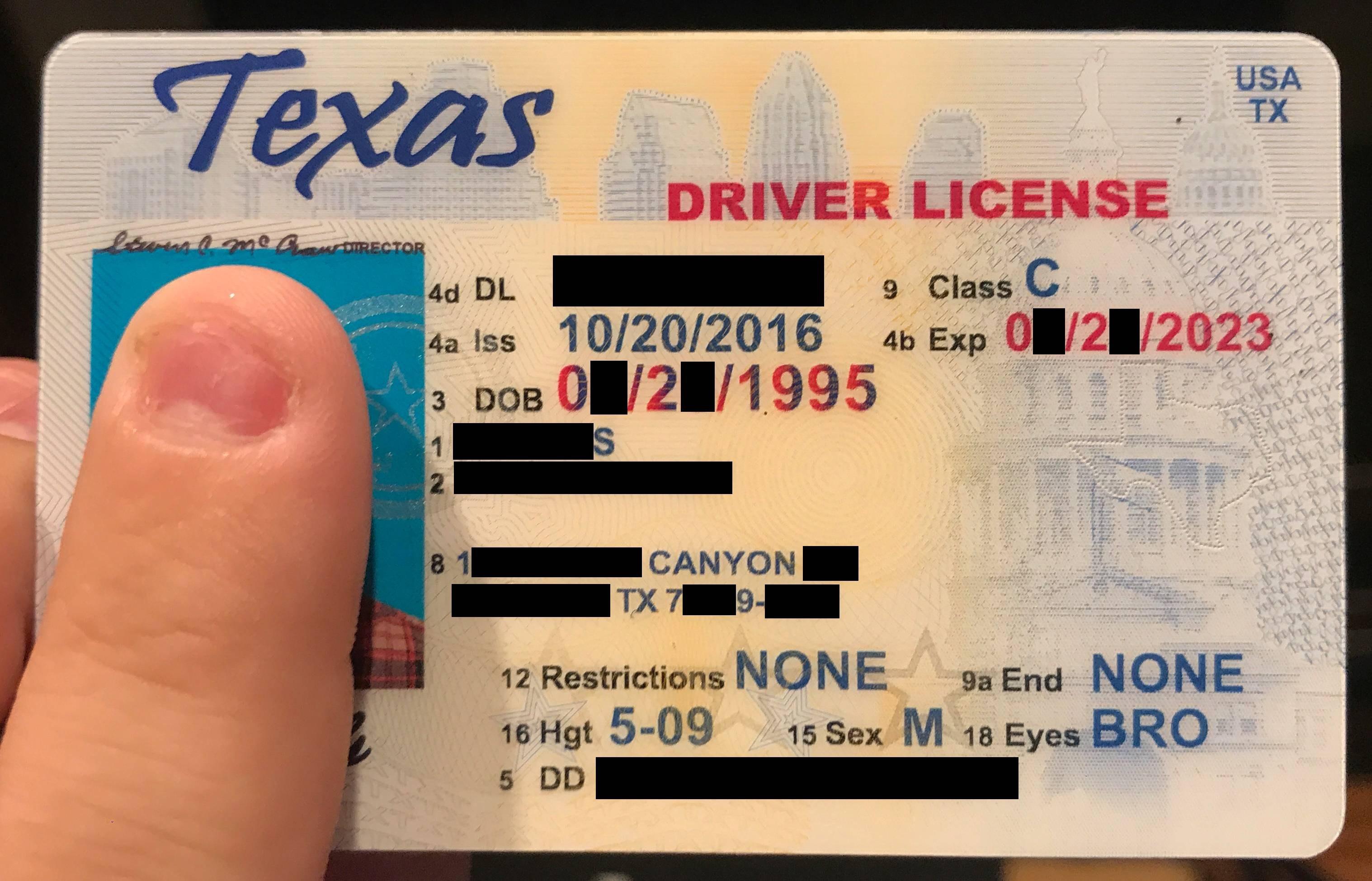 Legitfakeid Texas Review  Fake Id Maker Website Reviews  Fakeidman Intended For Texas Id Card Template