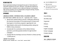 Librarian Resume Sample  Writing Guide  Rg in Library Catalog Card Template