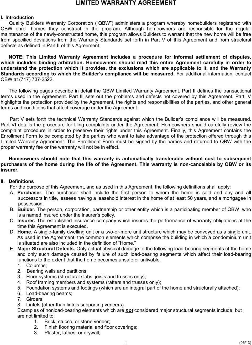 Limited Warranty Agreement  Pdf Intended For Limited Warranty Agreement Template