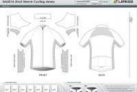 Limkoo intended for Blank Cycling Jersey Template