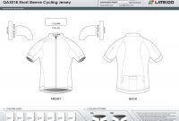 Limkoo throughout Blank Cycling Jersey Template