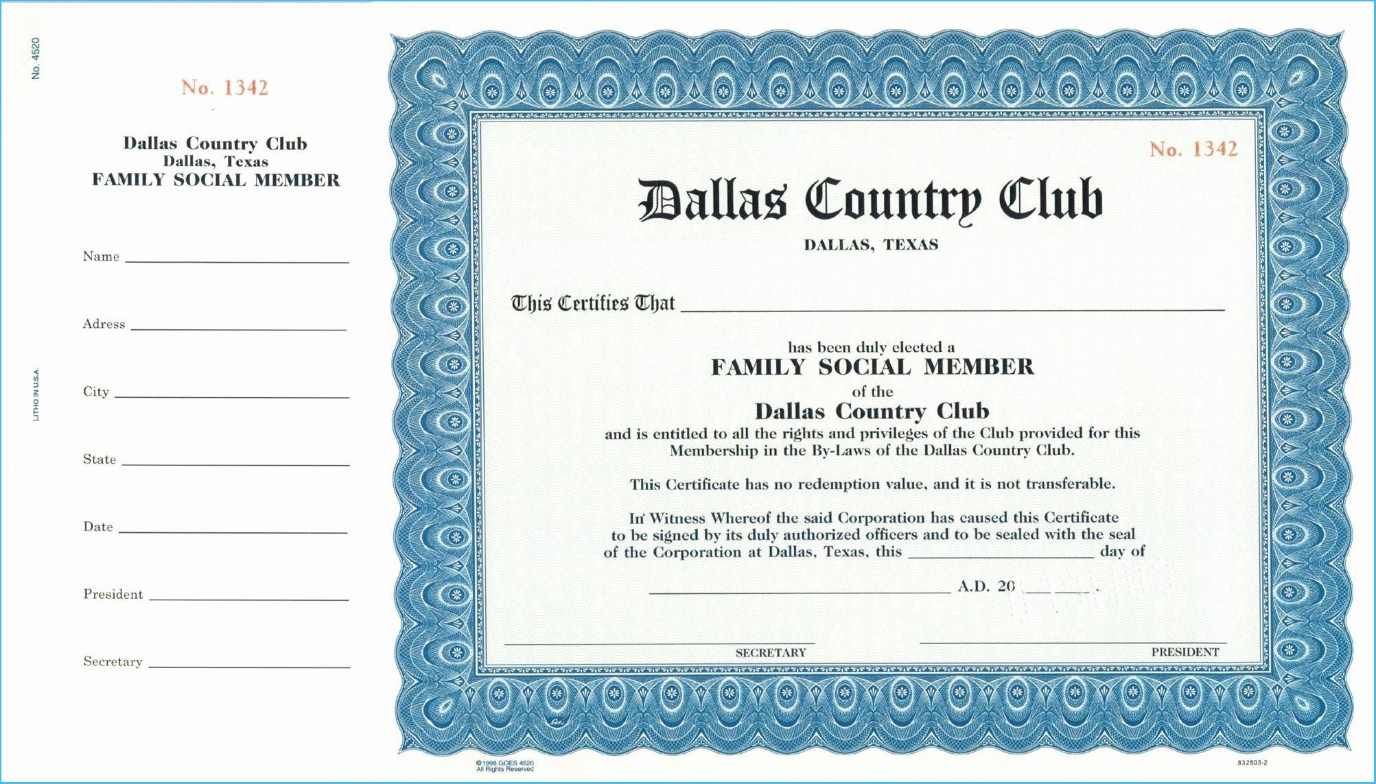 Llc Membership Certificate Template Within Llc Membership Certificate Template