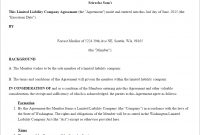 Llc Operating Agreement Template Us  Lawdepot intended for Brand Partnership Agreement Template