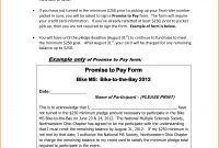 Loan Waiver Agreement Sample  Promise To Pay Letter Free intended for Promise To Pay Agreement Template