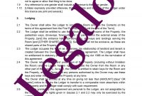 Lodger Agreement Template  For A Residential Tenancy  Legalo inside Termination Of Lodger Agreement Template