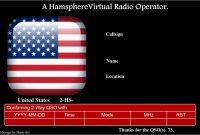 Lovely Ham Radio Website Templates Free  Best Of Template regarding Qsl Card Template
