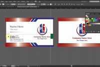 Lovely Illustrator Business Card Templates  Hydraexecutives within Adobe Illustrator Business Card Template