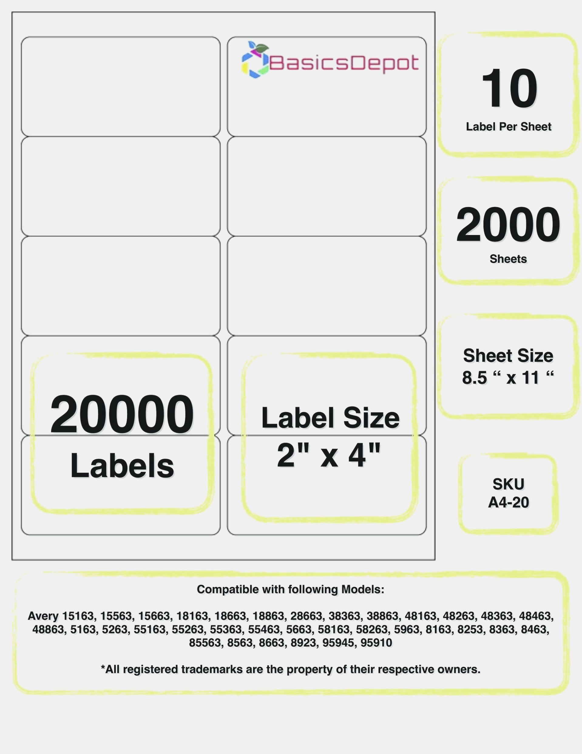 Lovely  X    Label Template  Template – Address Labels  X With 1 X 2 5 8 Label Template
