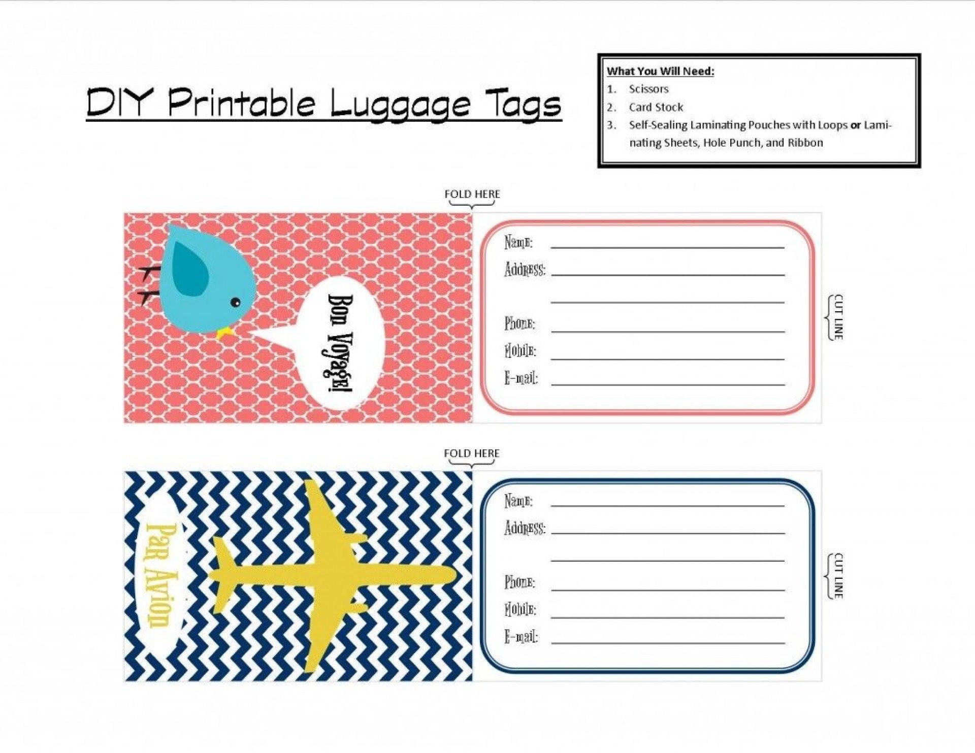 Luggage Tag Template Word Ideas Beautiful Label Blank Unique Within Blank Luggage Tag Template