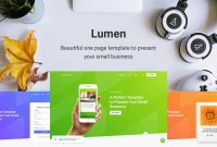 Lumen – Business Template for Small Business Website Templates Free