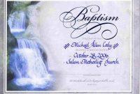 Luxury Free Baptism Certificate Template Word  Best Of Template inside Baptism Certificate Template Word