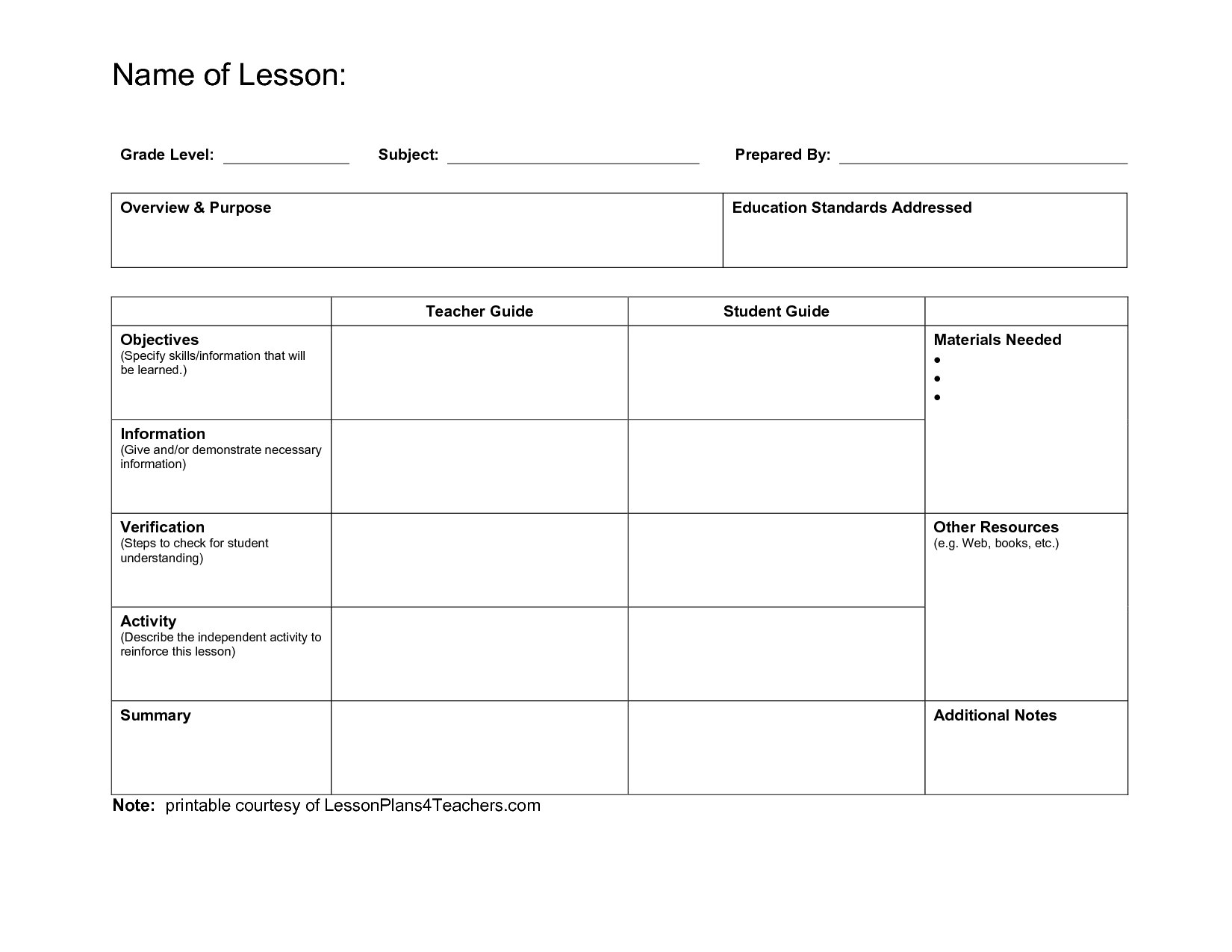 Madeline Hunter Lesson Plan Template Download Blank Free Pertaining To Madeline Hunter Lesson Plan Template Blank