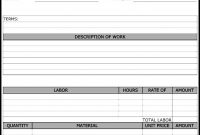 Maintenance Repair Job Card Template  Microsoft Excel Template And for Service Job Card Template