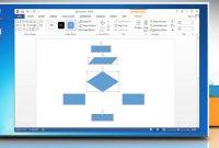 Make A Flowchart In Microsoft Word   Youtube inside Microsoft Word Flowchart Template