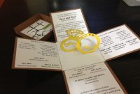 Make An Wedding Invitation Linked Rings Pop Up Card Template Free intended for Wedding Pop Up Card Template Free