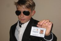 Make Your Own James Bond  Id Card  Steps intended for Mi6 Id Card Template
