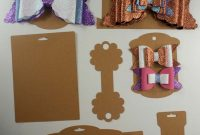 Making Bow And Headband Display Cards On The Cricut – Svg Dxf Eps for Headband Card Template