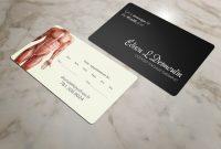 Männlich Konservativ Massage Therapy Visitenkartendesign Für A regarding Massage Therapy Business Card Templates