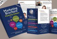 Marketing Brochure Design Template  Freedownload Printing in Creative Brochure Templates Free Download
