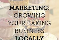 Marketing  Growing Your Baking Business Locally  If I Ever Own A intended for Cake Business Plan Template