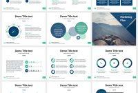 Marketing Plan Free Powerpoint Template  Powerpoint  Creative regarding Business Plan Powerpoint Template Free Download