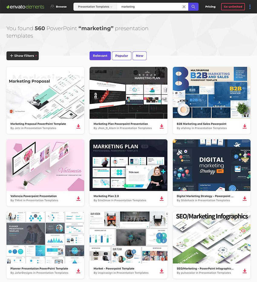 Marketing Powerpoint Templates Best Ppts To Present Your Plans With What Is Template In Powerpoint