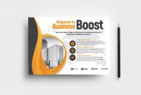 Marketing Seminar Flyer Template V  Brandpacks for Welcome Brochure Template