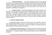 Marriage Agreement Forms Prenuptial Agreement Cohabitation pertaining to Joint Property Ownership Agreement Template