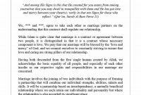 Marriage Contract Templates Standart Islamic Jewish ᐅ with regard to Islamic Prenuptial Agreement Template
