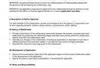Marvelous Letter Of Understanding Template Ideas Format Samples Word inside Mutual Understanding Agreement Template