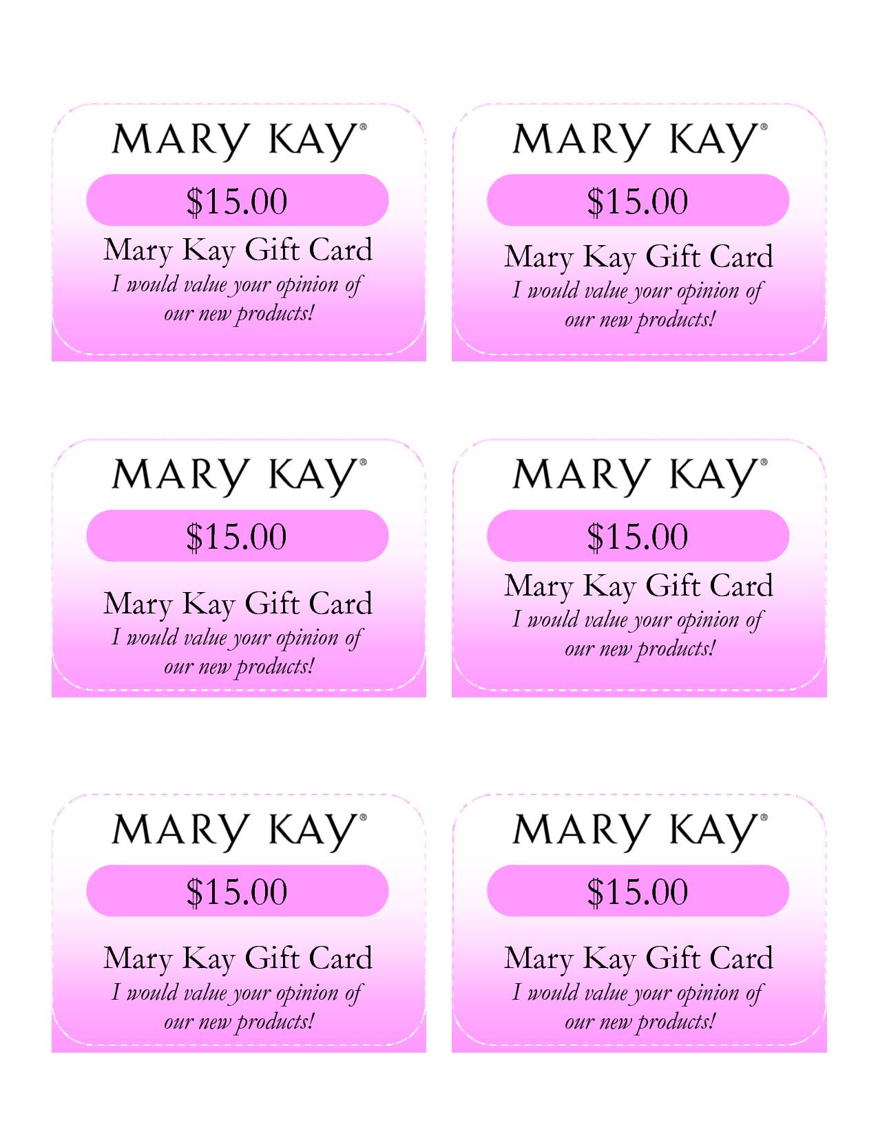 Mary Kay Birthday Certificates  Mary Kay Gift Card I Would Value Within Mary Kay Gift Certificate Template