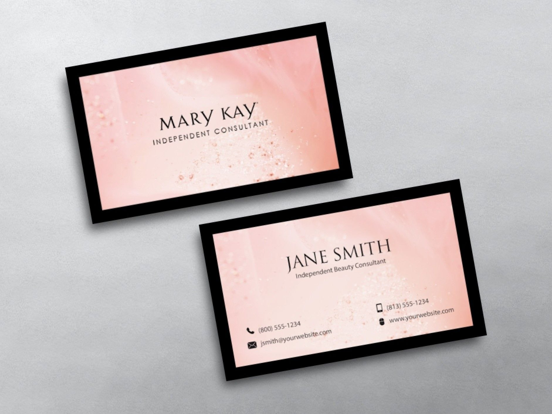 Mary Kay Business Cards In   Mary Kay Business  Mary Kay Free Inside Mary Kay Business Cards Templates Free