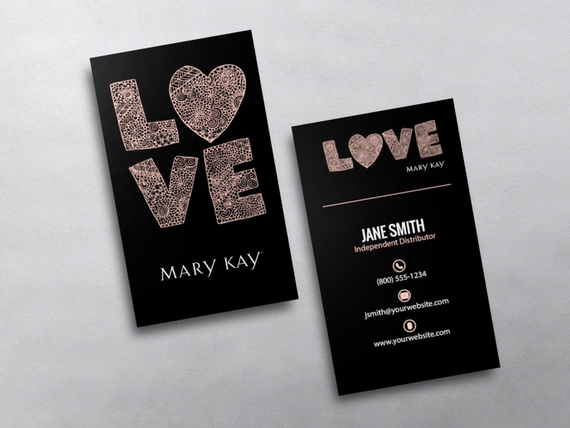 Mary Kay Business Cards In   Mary Kay  Mary Kay Free Business In Mary Kay Business Cards Templates Free