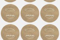 Mason Jar Label Template Free Inspirational Jar Label Template Free regarding Templates For Labels For Jars