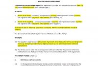 Master Services Agreement Template – Uk Template Agreements And throughout Directors Service Agreement Template