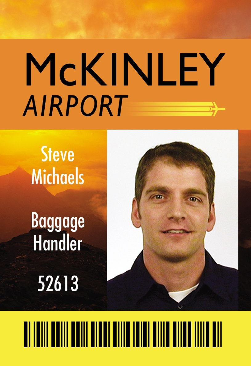 Mckinley Airport Id Card Design  Vectors  Employees Card Employee Within Sample Of Id Card Template