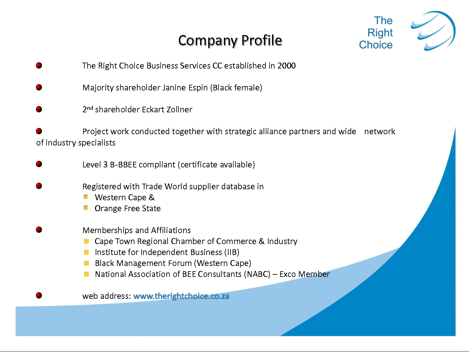 Media Company Profile Templateltg Guvmfvu  Business Intended For How To Write Business Profile Template