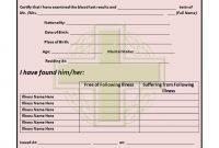 Medical Certificate Templates For Leave  Pdf Doc  Free regarding Medical Report Template Doc