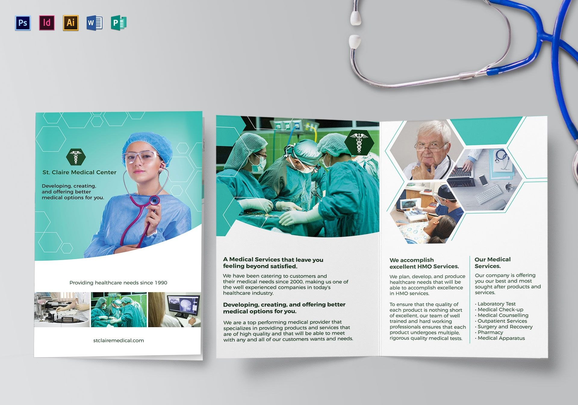 Medical Office Brochure Templates Intended For Medical Office Brochure Templates