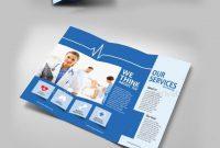 Medical Trifold Brochure  Graphics  Brochure Template Business in Medical Office Brochure Templates