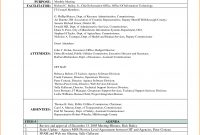 Meeting Minutes And Summary Template Sample  Violeet with Corporate Minutes Template Word
