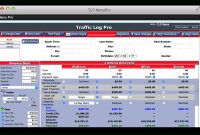 Menupro  Traffic Log Pro intended for Menu Selling F&i Template