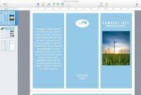 Microsoft Flyer Templates For Mac Fresh Microsoft Word Brochure with Mac Brochure Templates