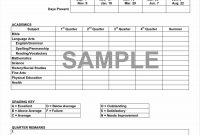 Middle School Report Card Template Ideas Unique Inspirational intended for Report Card Template Middle School