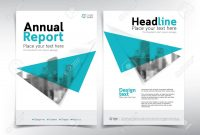 Minimalist Business Cover Page Vector Template  Can Be Used with Cover Page For Annual Report Template