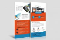 Mobile App Dl Rack Card Template in Dl Card Template